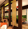 restaurant partition decoration