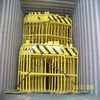 galvanized barricade fence ( factory )