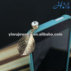 2012 fashion rhinestone cell phone accessories 3.5mm earplug dust plug