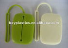 long strap silicone key chain wallet for holding keychain
