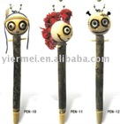 Lucky forest ghost cartoon wooden pencil