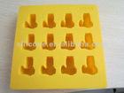 Custom food grade silicone ice cube tray