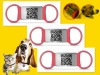 New arrival qr code dog tag