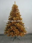 Orange Artifical Christmas Tree