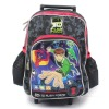 Hot selling children bag stocks cleanningbrand name with trolley high quality