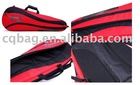 CQ red badminton racket bag