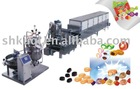 KQ-CD150/300/450 Soft Candy Depositing Line