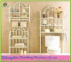 Metal Wire Bathroom Rack Bathroom Shelf