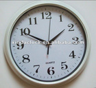 12 inch new plastic wall clock with good quality