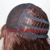 Remy human hair half hand tied and half machine wig