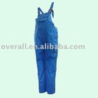 Cotton+Polyester Flame retardant Bib pants