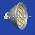 MR16 12V SMD bulb light SMD5050 21LED