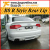 A4 B8 Rear Bumper Lip For Audi Rieger Style