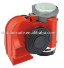 Compressor-operated air horn