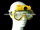 720P HD Diving Mask Camera 114degree Wide-Angle Lens 40M Underwater