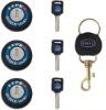 TYPER three size car door lock auto door lock