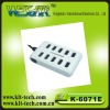 plug board hot sale 10 port usb 2.0 hub with switch