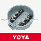 Aluminum Die Casting 100A Round Meter Socket/Box