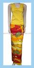 lady's printing beach skirt