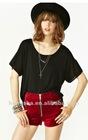 women fashion wide T-shirt for women HST613