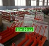 roller frame for belt conveyor