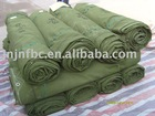 military colour cotton canvas waterproof tarpaulin