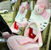 Pink Hello Kitty Winter Car Seat Cushions With Car Steering Wheel Covers 15pcs