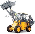 With 1.8 cbm of Bucket Capacity and Hoe bucket is 0.3m3 Backhoe loader WZ30-32