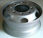 Silver Tube Steel Truck Wheel/Rim,Light Truck Wheel 6.00-16