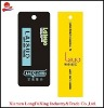 clothing luggage hang tag
