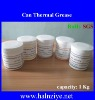 Halnziye CPU Cooler Thermal Grease/Compound Can-1kg with Cutting Edge