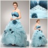 New design layer off-shoulder formal evening dress