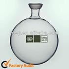 Flask ,round bottom ,spherical neck