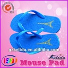 Stylish woman beach slipper/promotional flip flop slipper