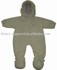 Newborn Baby Winter Jumpsuit