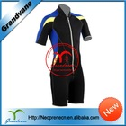 Short sleeve surfing suit