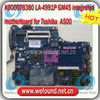 K000078380 LA-4991P GM45 integrated for toshiba A500 Laptop motherboard , systerm board , mainboard