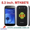 5.3 inch screen android 4.0 os MTK6575 cpu 3G smartphone N710