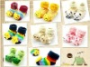 Cartoon Baby Girl Boy Anti-slip Socks Slipper Shoes Boots 0-6 month