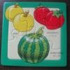 fruit paper puzzle/puzzle toy/puzzle mat(promotional gifts)