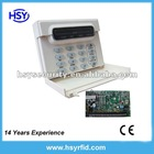 Wired Alarm Panel system with Keypad for office/building and garage security