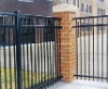 forged iron fence