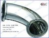 sanitary stainless steel 45 deg elbow