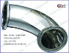 sanitary stainless steel 45 deg elbow
