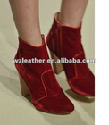 2012 autumn winter women classic pu Shoe leather