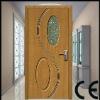 novel MDF door with glass