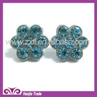 Fancy Rhinestone Flower Shape Button