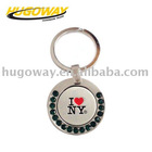 2012 Fashion imitation hard enamel matel key chain