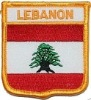 Applique embroidery flag patch