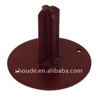 base plate with pin